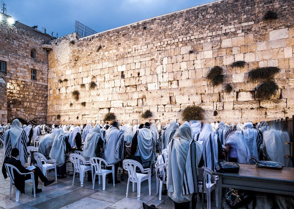 operation exodus-western wall